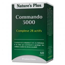 Commando 3000 - Anti-Oxydant Complement Alimentaire Bio