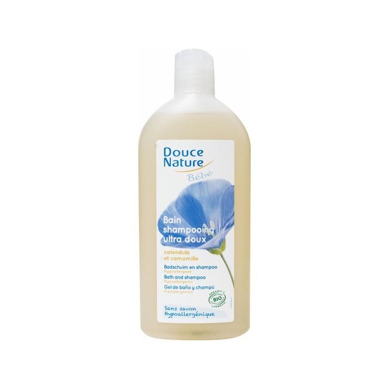 Bain Shampoing Bébé  Cosmetique Bio Francais